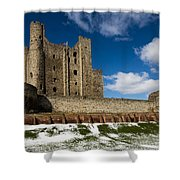 Rochester Castle Shower Curtain