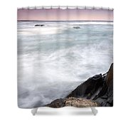 Rocky Coast Kejimkujik Np Nova Scotia Shower Curtain