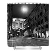 Roma By Night Shower Curtain