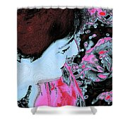 Rose Aroma Shower Curtain