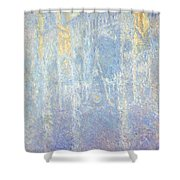 Rouen Cathedral Shower Curtain