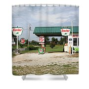 Route 66 - Paris Springs Missouri Shower Curtain