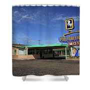 Route 66 - Tucumcari New Mexico Shower Curtain