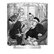 Rowlandson: Quack Doctor Shower Curtain