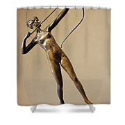 Saint Gaudens' Diana Of The Tower Shower Curtain