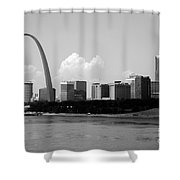 Saint Louis Skyline Shower Curtain