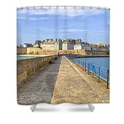 Saint-malo - Brittany Shower Curtain