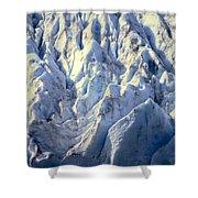 Salmon Glacier Shower Curtain