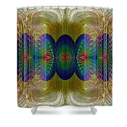 Salsify Abstract Shower Curtain