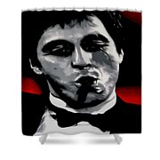 Scarface 2013 Shower Curtain by Luis Ludzska