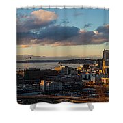 Seattle Dusk Shower Curtain
