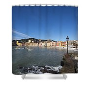 Sestri Levante Shower Curtain