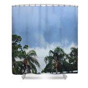 Skyscape Tornado Forming Shower Curtain
