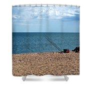 Slapton Sands Shower Curtain