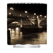 Southwark Bridge London Shower Curtain