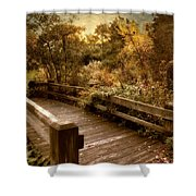 Splendor Bridge Shower Curtain