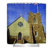 St. Andrews-by-the-sea Shower Curtain