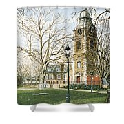 St Johns Church Wapping London Shower Curtain