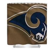 St Louis Rams Uniform Shower Curtain