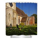 St Marys Church Kintbury Shower Curtain