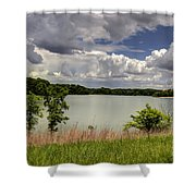 3-summer Time At Moraine View State Park Shower Curtain