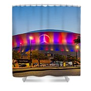 Superdome Shower Curtain