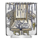 Surgical Instruments Shower Curtain