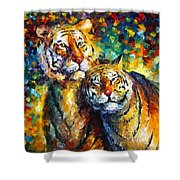 Sweetness Shower Curtain by Leonid Afremov
