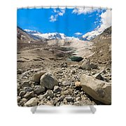 Swiss Mountains Shower Curtain