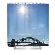 Sydney Harbour Bridge In Australia  Shower Curtain