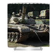 T-72 /2/ Shower Curtain