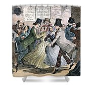 Temperance Movement, 1848 Shower Curtain