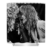Tesla - Jeff Keith Shower Curtain