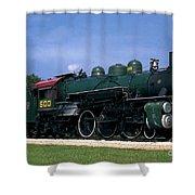 Texas State Railroad Shower Curtain