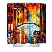 The Canals Of Venice Shower Curtain