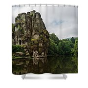 The Externsteine Shower Curtain