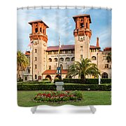 The Lightner Museum Formerly The Hotel Alcazar St. Augustine Florida Shower Curtain