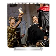 The President And First Lady Shower Curtain