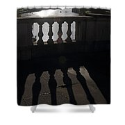 The River Thames At Hampton Court London Shower Curtain