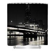 The Shard And London Bridge Shower Curtain