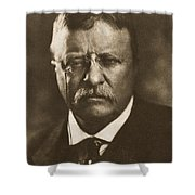 Theodore Roosevelt (1858-1919) Shower Curtain