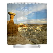 Toadstool Caprocks Grand Staircase Shower Curtain