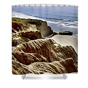 Torrey Pines State Park - California Shower Curtain