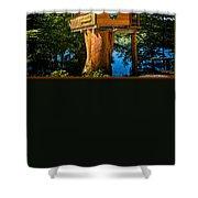 Tree House Shower Curtain