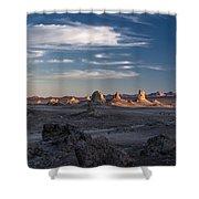 Trona Pinnacles Shower Curtain