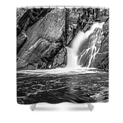 True's Brook Gorge Water Fall Shower Curtain