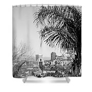 Tucson Az Skyline Shower Curtain