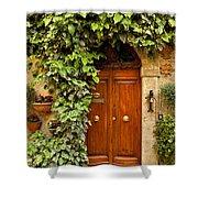 Tuscan Door Shower Curtain
