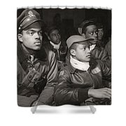 Tuskegee Airmen, 1945 Shower Curtain