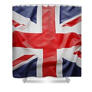 Uk Flag Shower Curtain